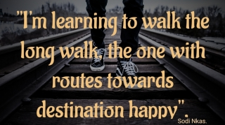 Long Walk To Happiness.