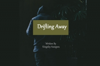 Drifting away.
