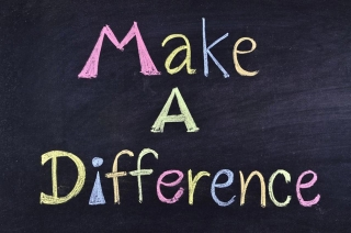 Make A Difference.